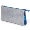 "Cover Image for Gray/Blue Profolio Midtown Pouch 5"" x 9"""