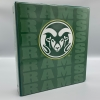 """Image for Green Rams Pictoral 1.5"""" Binder"""