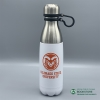 Image for 17 Oz White/Aggie Orange CSU Stainless Steel Water Bottle