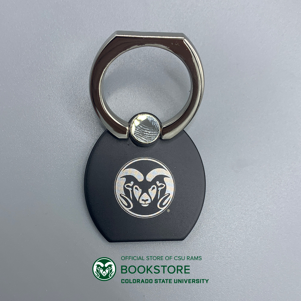 Image For CSU Laser Engraved Metal Phone Ring