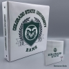 "Image for White CSU Rams Shield 1.5"" Binder"