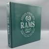 "Image for Green Rams Oval Design 1.5"" Binder"