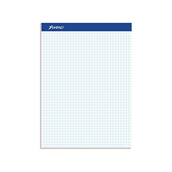 Image For Ampad Blue Double Sheet Graph Pad