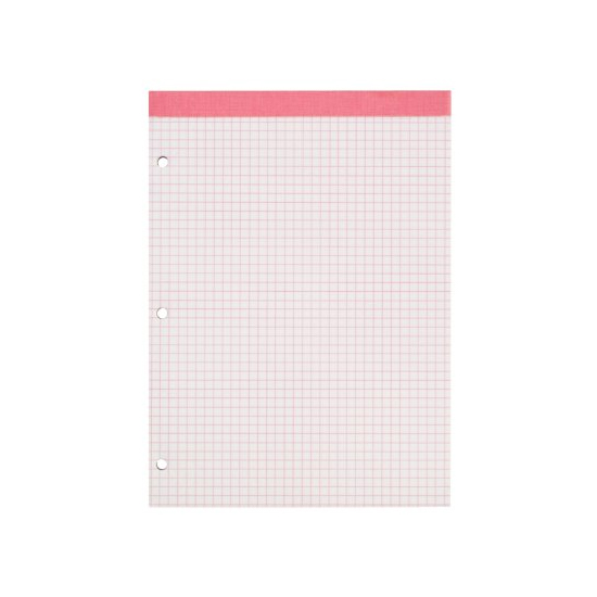 Image For Ampad Pink Double Sheet Graph Pad