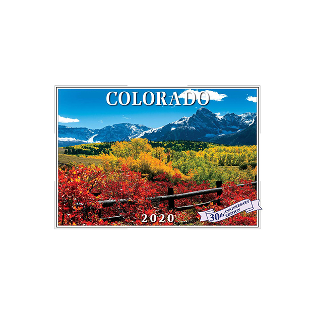 Csu Calendar Fall 2020 Colorado 2020 Wall Calendar | CSU Bookstore