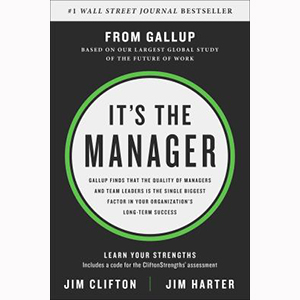Image For It's the Manager by Gallup