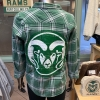 Image for Hunter Green Rams Spirit Gameday Flannel