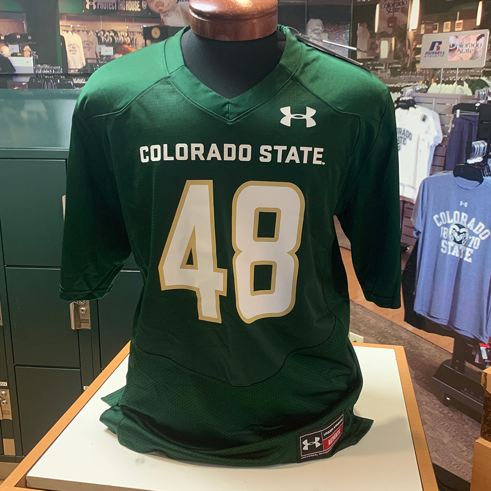 Image For CSU Forest Green Replica Jersey #48