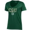 Image for Green CSU Rams Champion V-Neck Tee