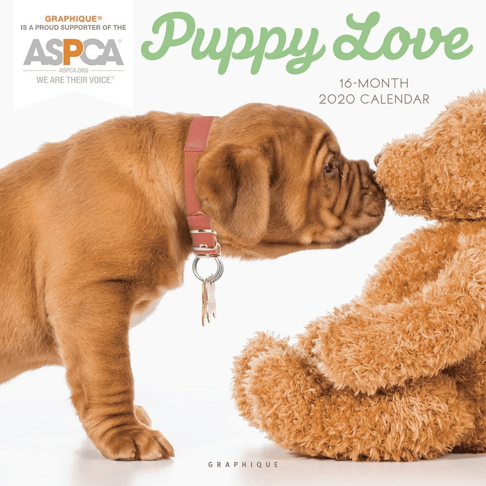Image For Puppy Love 2020 Wall Calendar