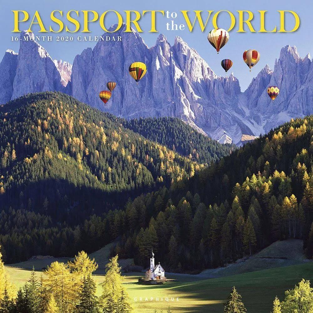 Csu Calendar 2020 Passport to the World 2020 Wall Calendar | CSU Bookstore