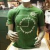 Image for CSU Green Waffle Short Sleeve Tee by Under Armour