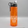 Image for Orange H2go Sport 25oz BearBak Water Bottle
