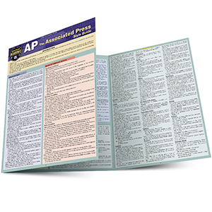 Image For Associated Press Style Guide by Barcharts