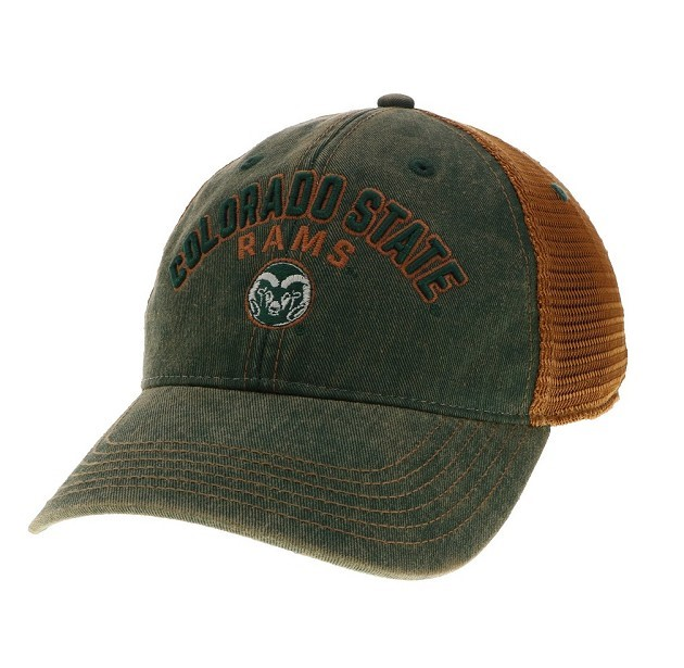 Image For Green and Copper Legacy Colorado State Adjustable Hat