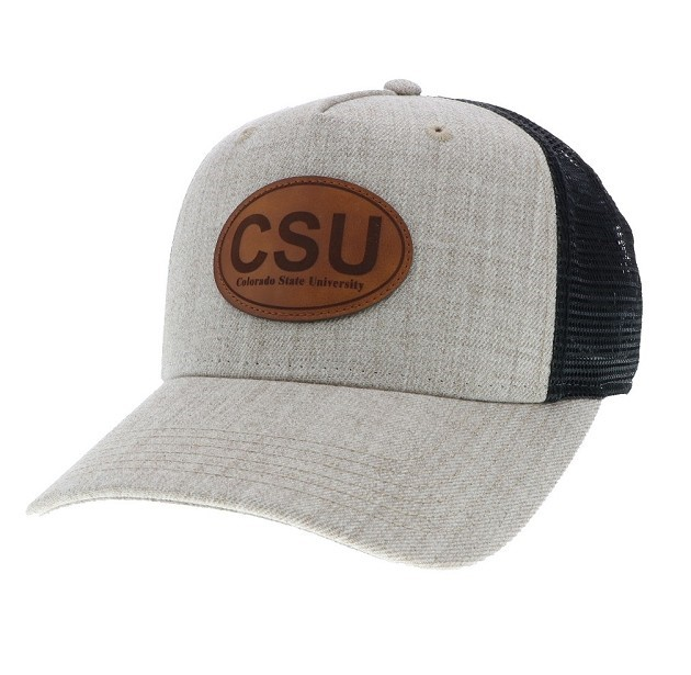 Image For CSU Tan and Black Legacy Roadie Hat