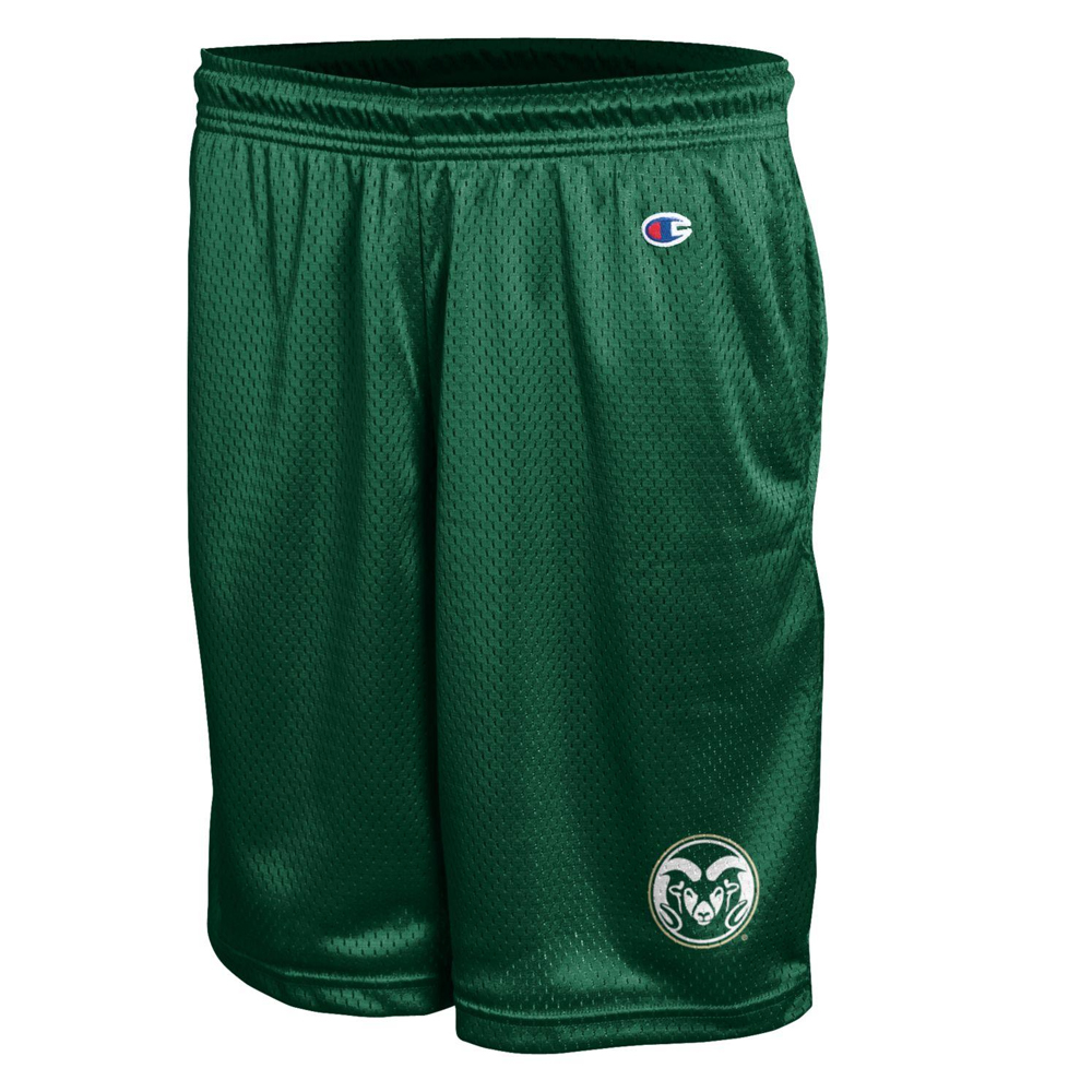 Image For Green Colorado State Mesh Shorts by Champion