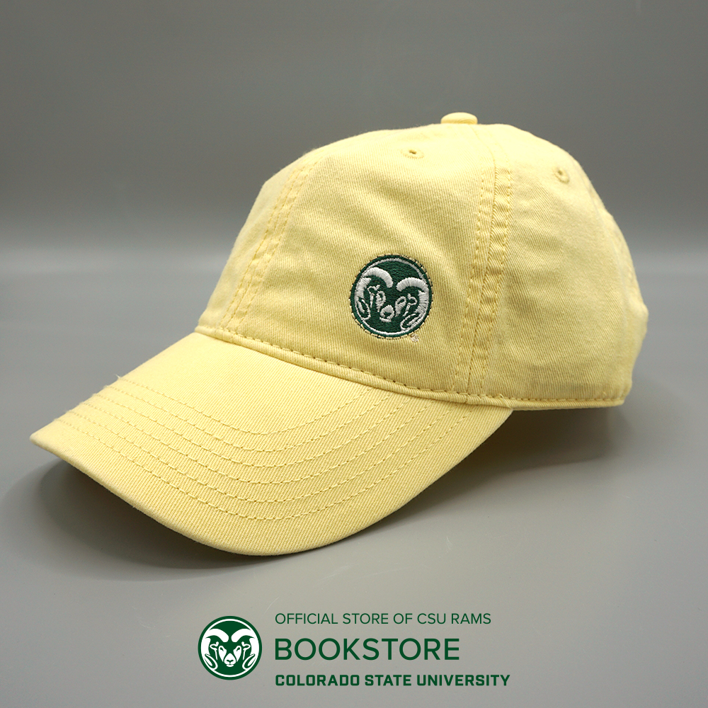 Image For CSU Rams Pastel Yellow Women's Low Cut Hat by Legacy
