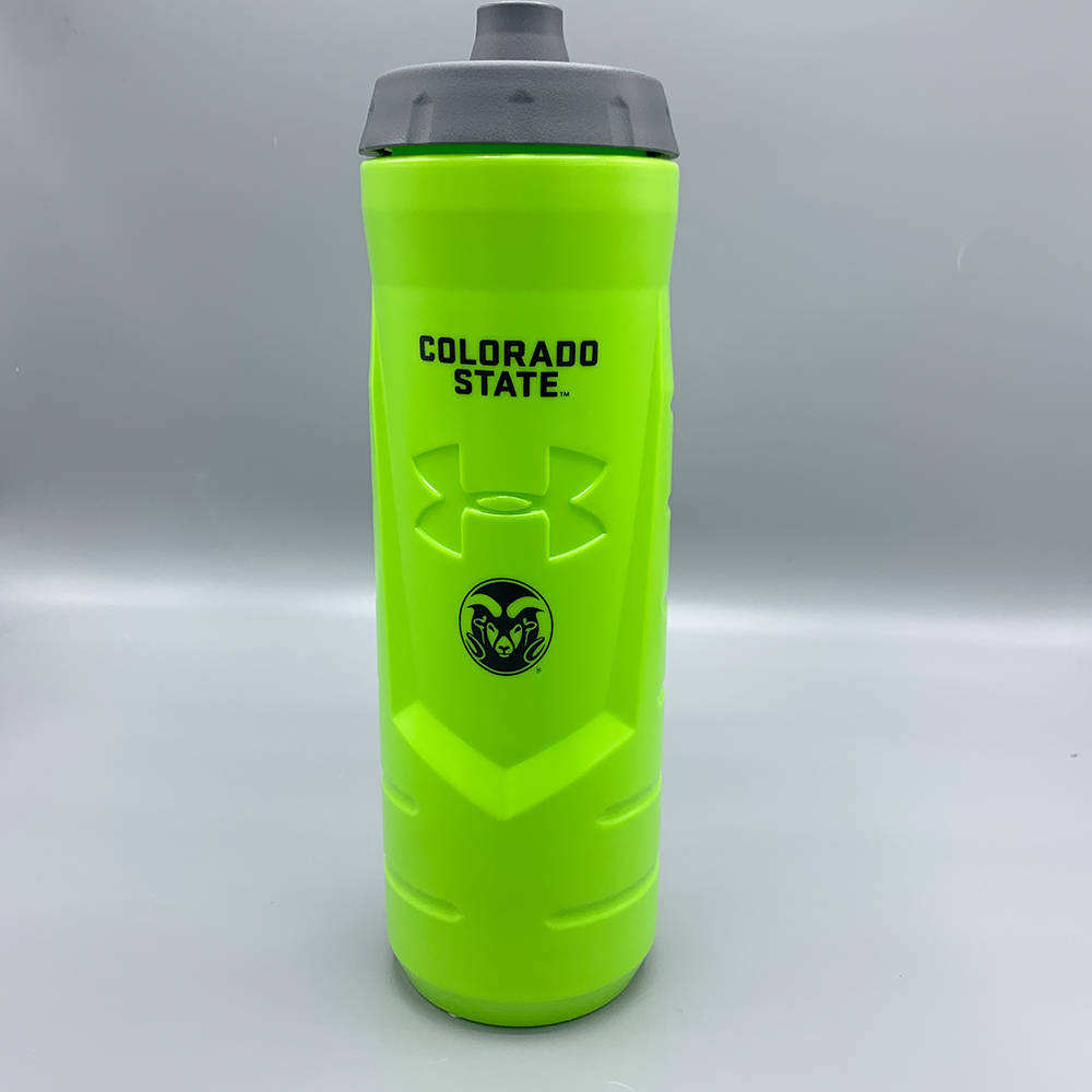 Image For Colorado State Green 32oz Squeeze Bottle by Under Armour