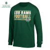 Cover Image for Green CSU Rams Football Long Sleeve by Champion