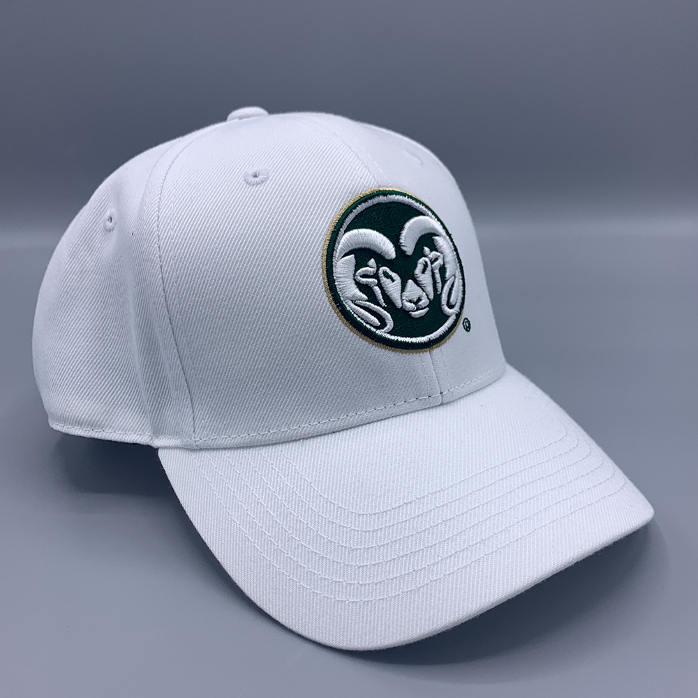 Image For CSU Rams White Mens Hat by Under Armour
