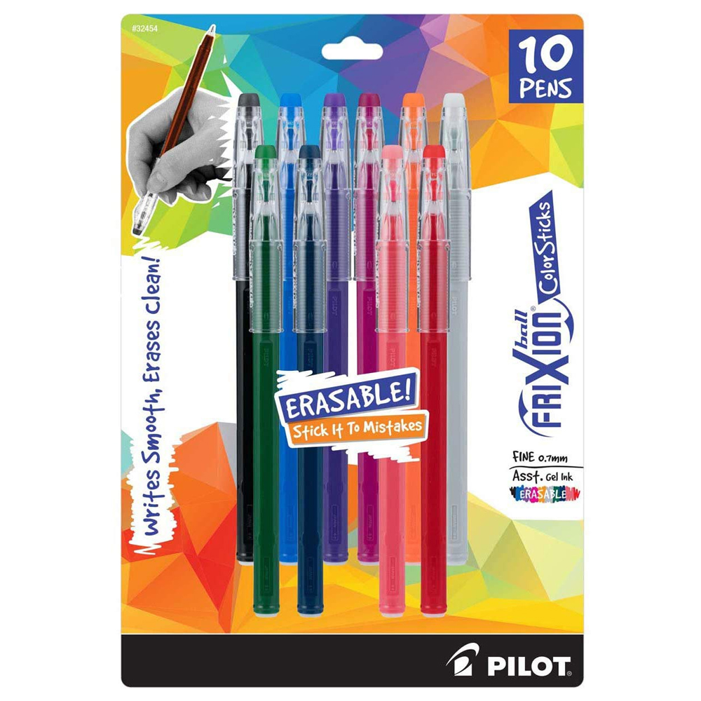 Image For Erasable Fine Point (0.7mm) Gel Ink Pens by Pilot