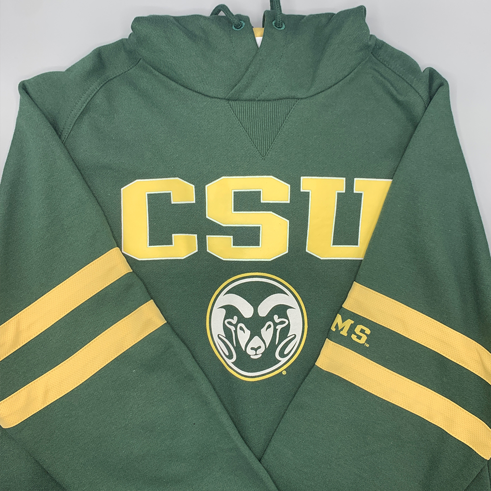 Image For Green and Gold CSU Rams Sweatshirt by Champion