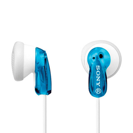 Image For Blue & White Sony Fashion Earbuds