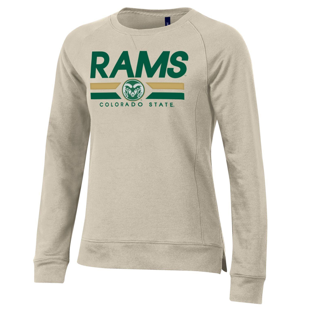 Image For Gray CSU Rams Crew Style Sweatshirt by Gear