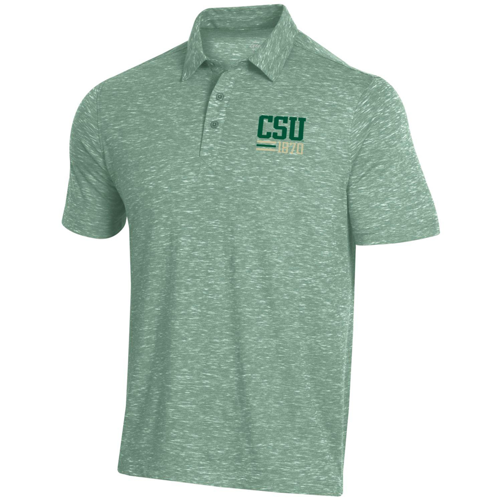 Image For Green CSU Rams Polo Shirt by Gear