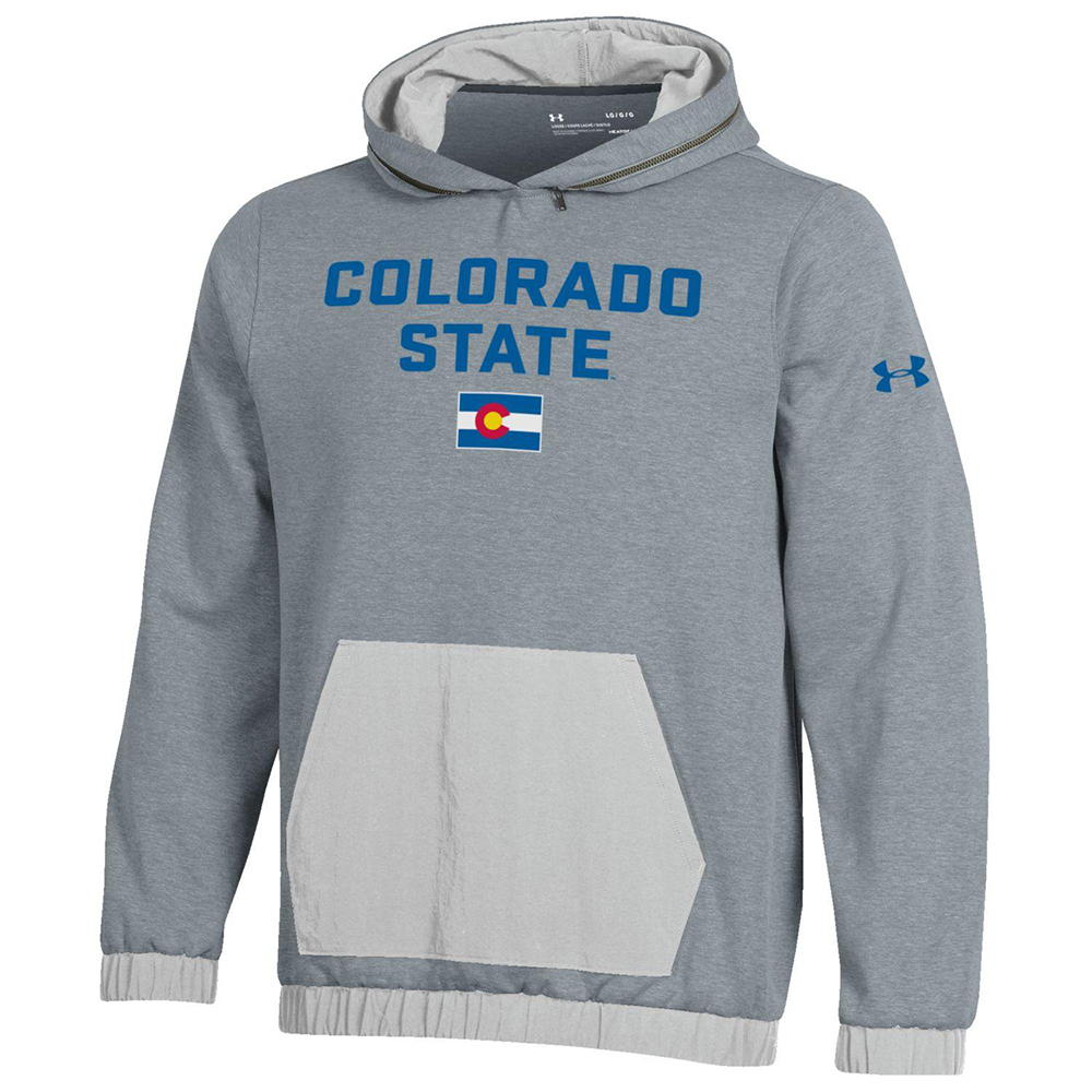 Image For Colorado State Pride Knod Point Hoodie by Under Armour