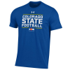 Cover Image for Blue CSU Rams State Motto Woman's T-Shirt by Under Armour