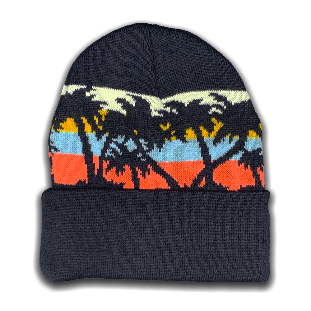 Image For Palm Trees Knit Beanie by Legacy