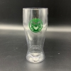 Cover Image for Green Frosted Ram Head Shot Glass
