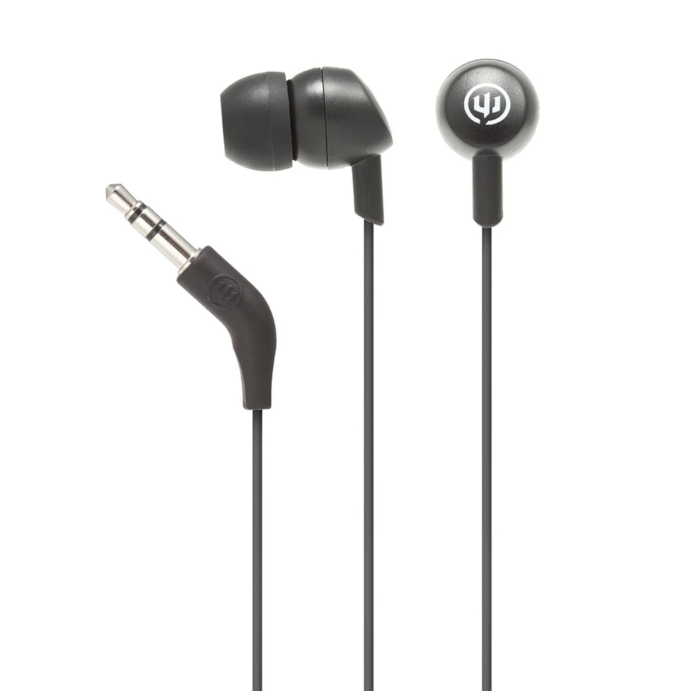 Image For Black Belt Wicked Audio Brawl Wired Earbuds