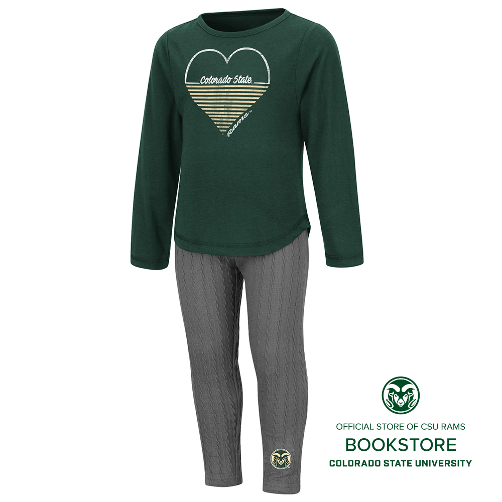 Image For CSU Rams Toddler Sweetums Set by Colosseum