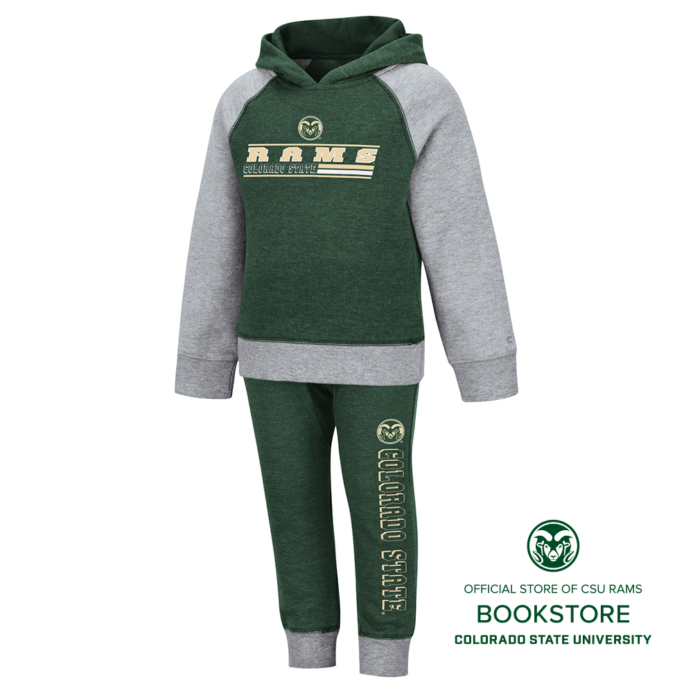 Image For Infant CSU Rams Hoodie and Pant Set by Colosseum