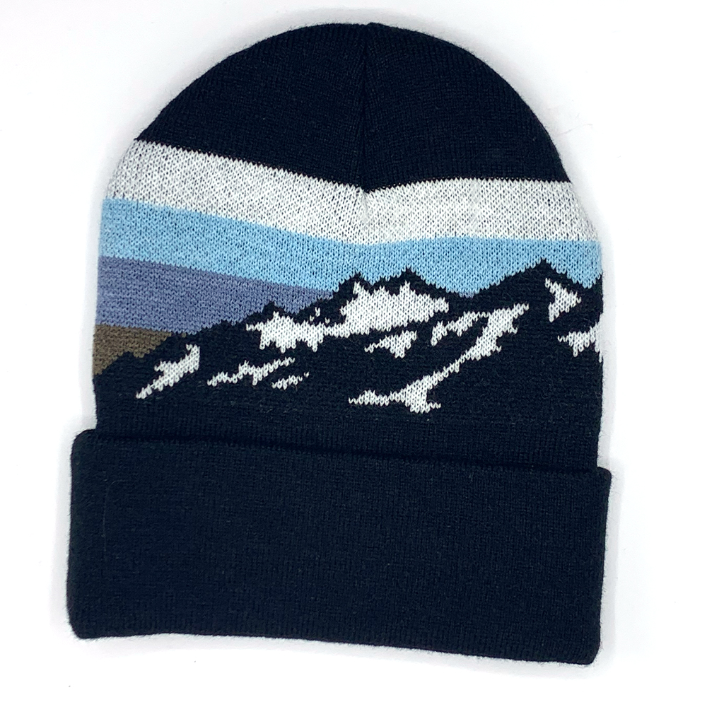 Image For Mountain Snow Knit Beanie by Legacy