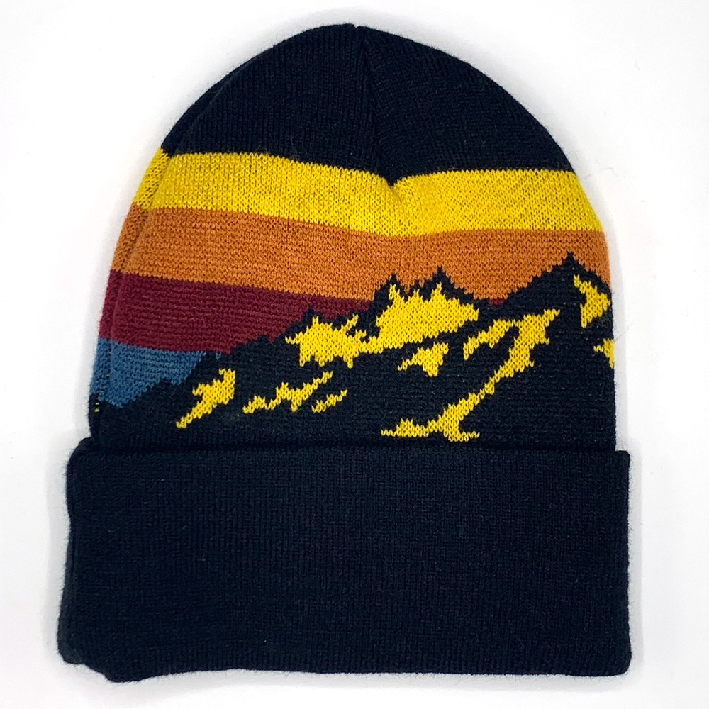 Image For Mountain Sun Knit Beanie by Legacy