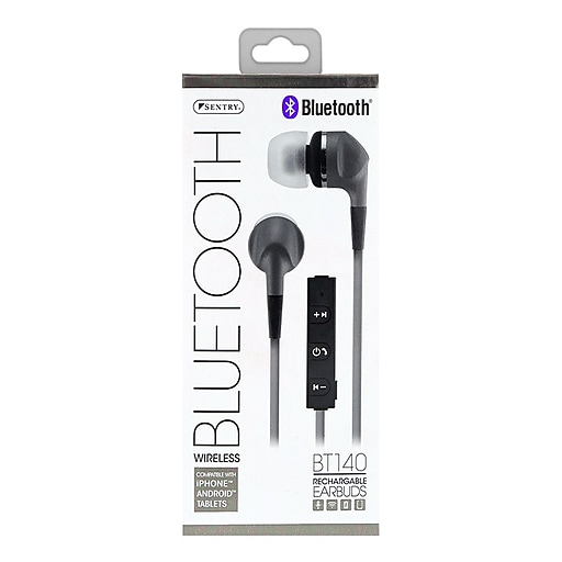 Image For Silver Sentry Bluetooth BT140 Wireless Earbuds