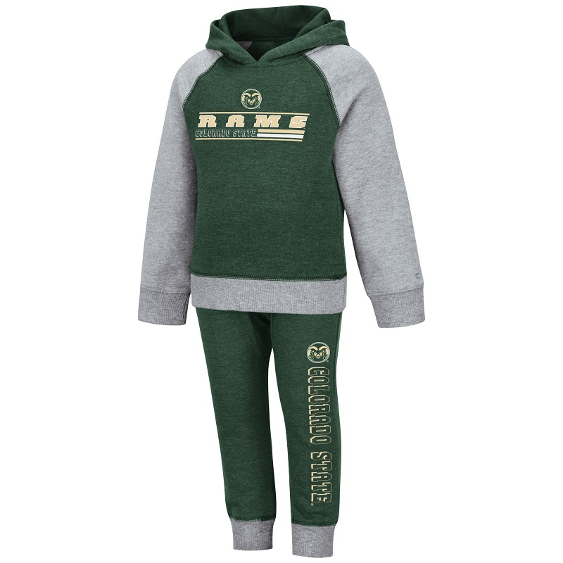 Image For Toddler CSU Rams Hoodie and Pant Set by Colosseum