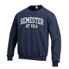 Cover Image for Grey Semester at Sea Champion Fleece Crew