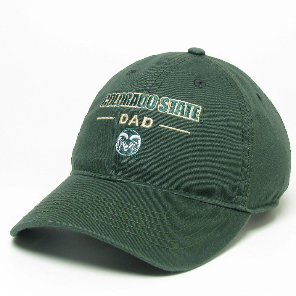 Image For Green CSU Dad Hat by Legacy