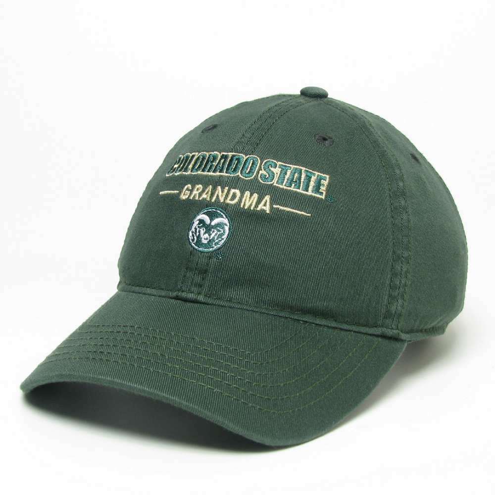 Image For Green CSU Grandma Hat by Legacy