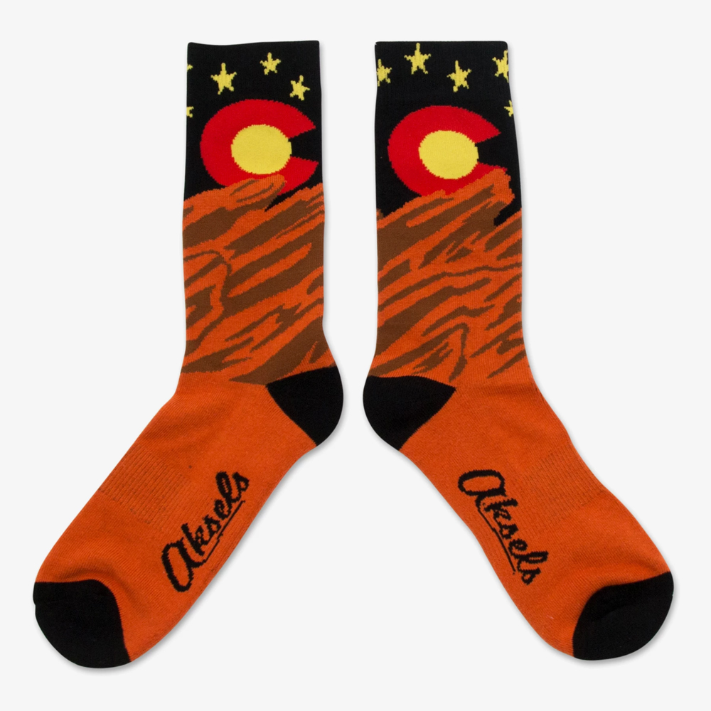 Image For Red Rocks Socks by Alsels