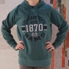 Washed Forest Green Colorado State Hoodie by Outta Town Image