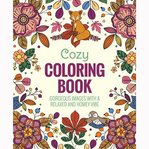 Image For Cozy Coloring Book