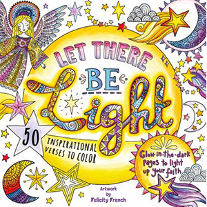 Image For Let There Be Light:  Glow in the Dark Bible Color Book