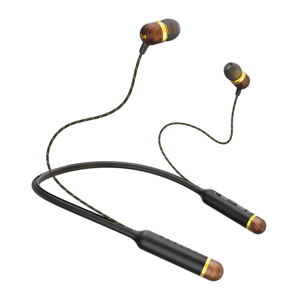 Image For Black Smile Jamaica Bluetooth Earphones by Marley