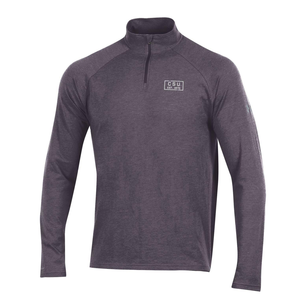 Image For Charcoal CSU 1870 1/4 Zip by Under Armour